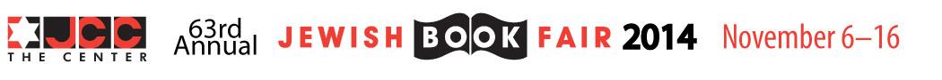 JCC 63rd Annual Jewish Book Fair, November 6-16, 2014